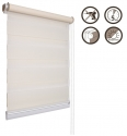 01 Roller blinds D&N / ecru
