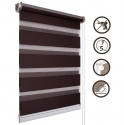 04 Roller blinds D&N / dark brown