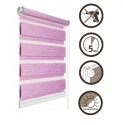 19 Roller blinds D&N / purple